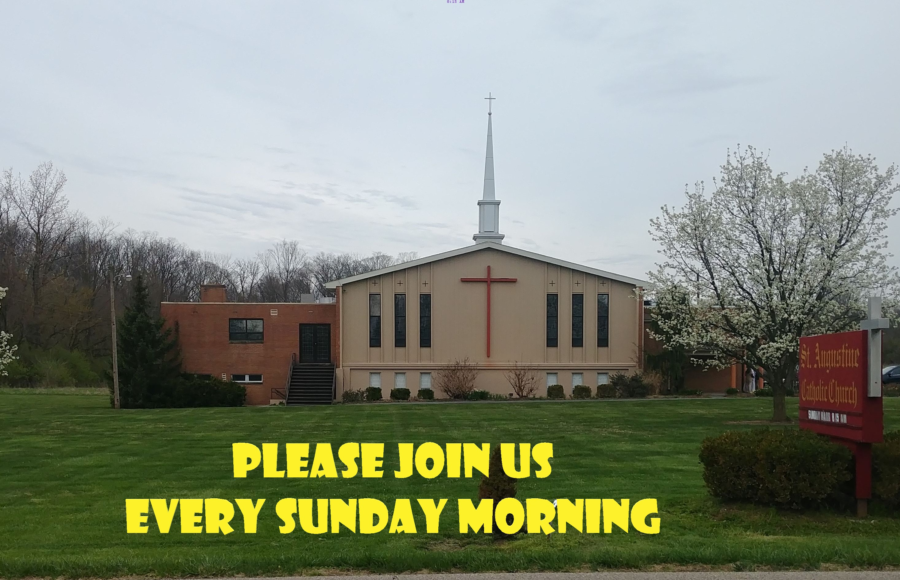 Sunday Mass 8:15 Am